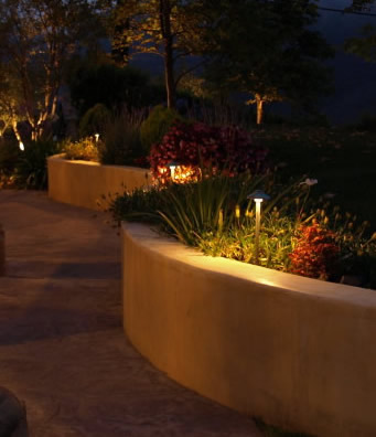 hidden hills landscape lighting